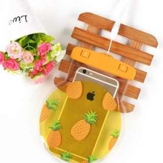 手機防水袋(尺寸5.5寸內都可用) : 清新生果菠蘿款