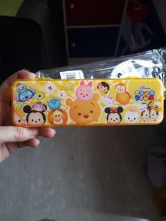 Tsum tsum pencil box - comes with 2 pencil and erarser