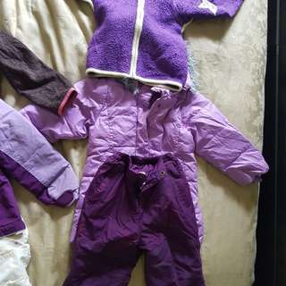Winter kids apparal