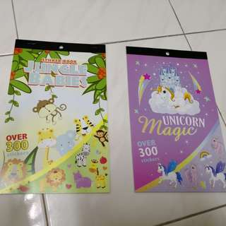 BN Stickers book