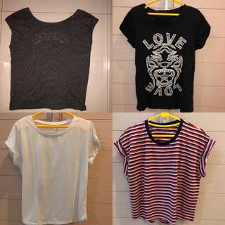 sale‼️ kaos mango, H&M, cotton on @35k😻