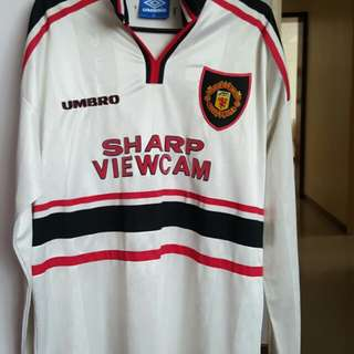 Manchester United jersey rare vintage