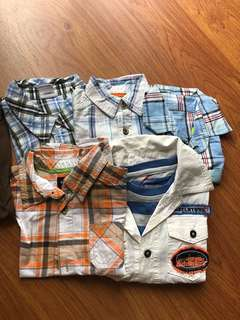 Boys Shirt / rompers bundles