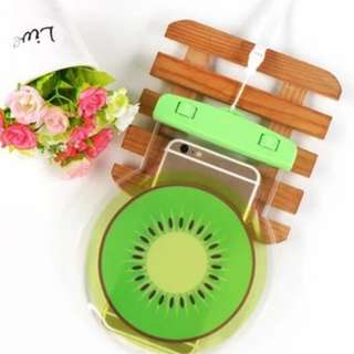 手機防水袋(尺寸5.5寸內都可用) : 清新奇異果款