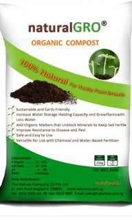 25kg organic fertilizer compost