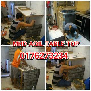 Mhd Aqil Tukang Buat Table Top