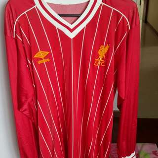 Liverpool jersey.