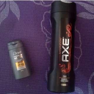 Axe Men Dark Temptation Shampoo & Conditioner