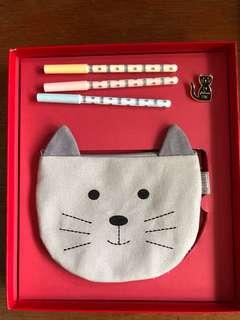 Kikki.K Cat Stationery Set