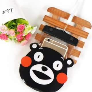 手機防水袋(尺寸5.5寸內都可用) : 熊本熊款