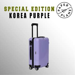 【PAPERPLANE】特別版 l RIMOWA Korea Purple Series 810.90.537 登機箱 行李箱 旅遊 旅行