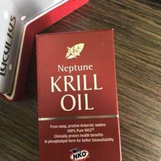 磷蝦油丸 krill oil