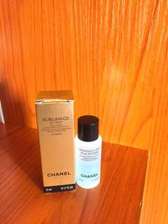 Chanel sublimage le twint 30belge foundation & eye makeup remover 100%new