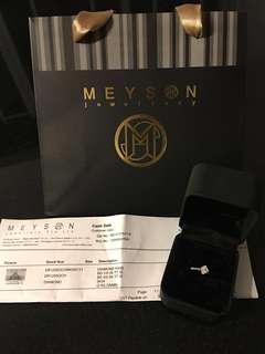 MEYSON 18K Diamonds Ring