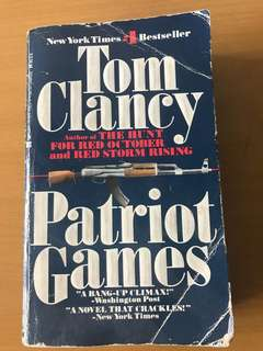 Tom Clancy Novel