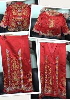 全新中式裙褂 Size M-L