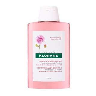 Klorane Peony Soothing & Anti-Irritating Shampoo 200ml