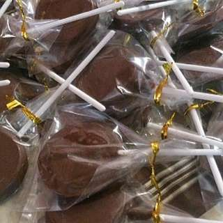 Lollipop chocolate