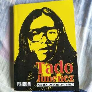 *REPRICED* Tado Jimenez - Ang Ikatlo sa Huling Libro