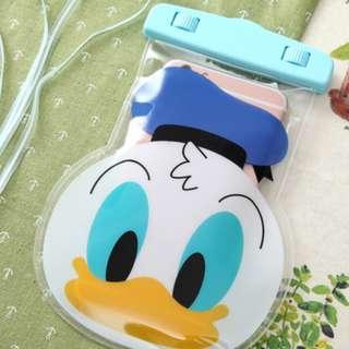手機防水袋(尺寸5.5寸內都可用) : 立體唐老鴨款