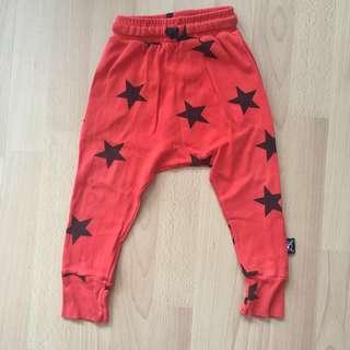 NUNUNU | PL Baggy harem pants | Size 18-24m