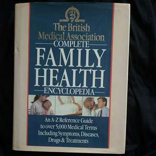 Book | The British Medical Association Complete Family Health Encyclopedia
