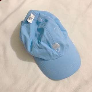 PASTEL BLUE KOREAN CAP