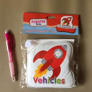 Floatee Book (Vehicles)