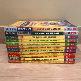 Geronimo Stilton -- 11 books