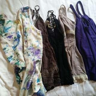 Take all sleeveless tops