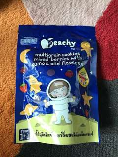 Baby food snacks peachy multigrain cookies 1 year old and above