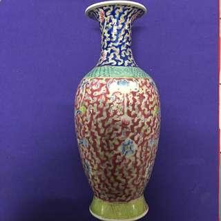 老粉彩 花瓶