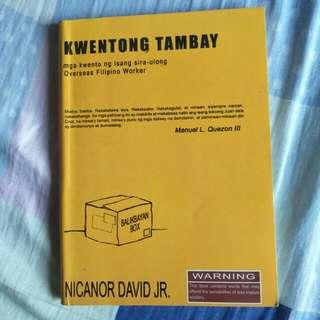 Nicanor David Jr. - Kwentong Tambay