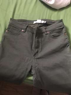 navy jeans from H&M