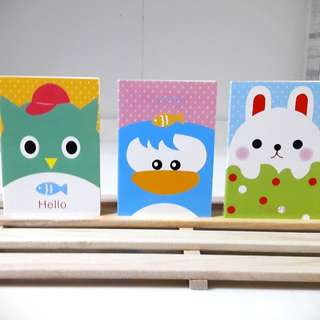 Cute Animals Mini Notebook