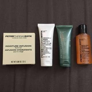 Peter Thomas Roth - facial bar/lotion/shampoo/cleanser