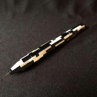 🚚 日本 黑白積木 自動鉛筆