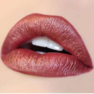 Mugshot colourpop metallic lipstick