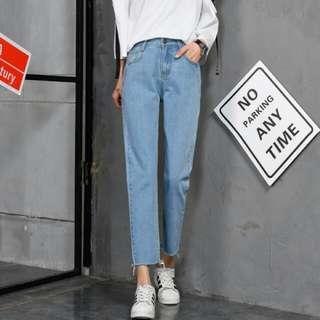 PO: Light Boyfriend Denim Jeans