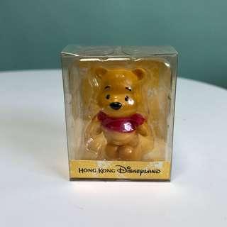 NEW [Disneyland] Winnie The Pooh Figure 小熊維尼公仔 5cm高