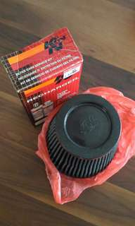 K&N Air Filter + cleaning kit
