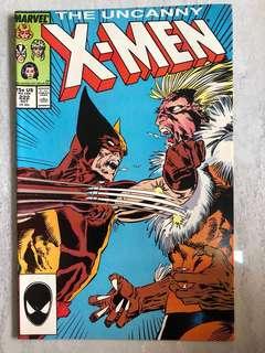 Original Uncanny X- Men #222