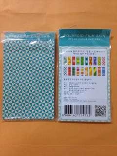 Retro Instax Mini Flim Sticker