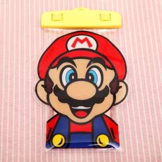 手機防水袋(尺寸5.5寸內都可用) : Mario馬里奧款