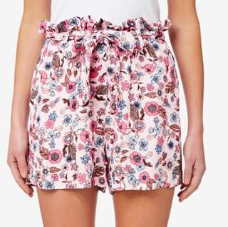 Seed Floral Paperbag Shorts