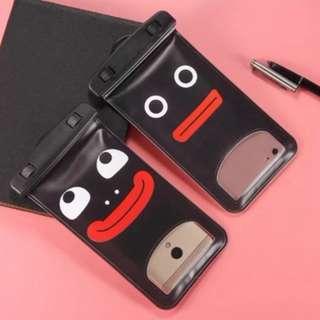 手機防水袋(尺寸5.5寸內都可用) : 漂流怪搞情侶款