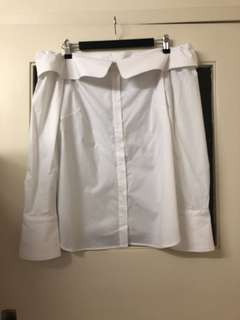 Saba Off The Shoulder White Shirt