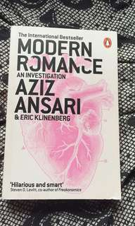 Modern Romance Book by Aziz Ansari