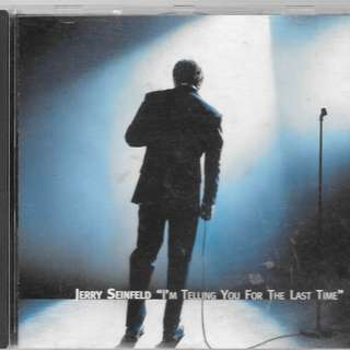 MY PRELOVED CD - JERRY SEINFIELD - I AM TELLING YOU FOR THE LAST TIME/FREE DELIVERY (F3L)