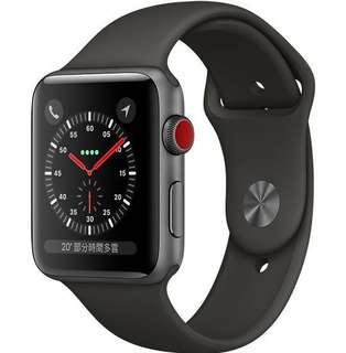 收一隻Apple Watch  3 cellular 42mm 自用